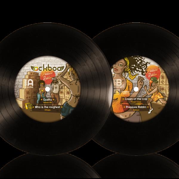 Vinyl-pressure riddim