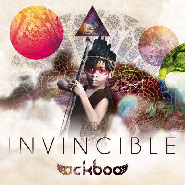 Ackboo - Invincible (Official album art _web)